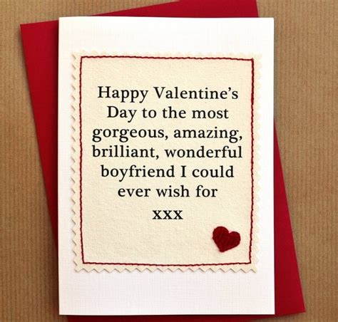 how to your boyfriend on valentines valentine s day card sayings for boyfriend designcorner