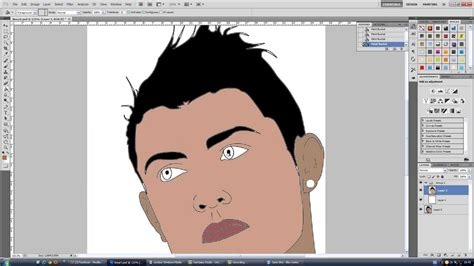 vector art tutorial photoshop cc tutorial photoshop line art vector art youtube