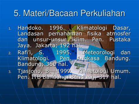 Klimatologi Pengukuran Dan Pengolahan Data Curah Hujan Original Kontrak Belajar Klimatologi Dasar S1 Pertanian