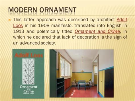 ornament is crime modernist 0714874167 the evolution of ornaments