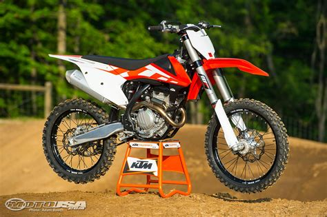 Ktm Motor Cycle 2016 Ktm Sx F Motorcross Ride Photos Motorcycle Usa