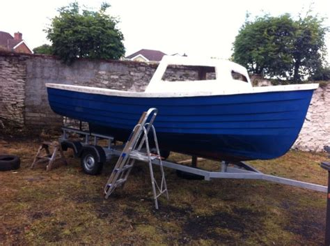18 foot fishing boat 18 foot lough neagh fishing boat project for sale in derry