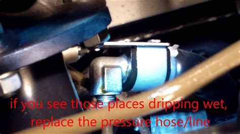 guide  replace power steering hose  nissan murano