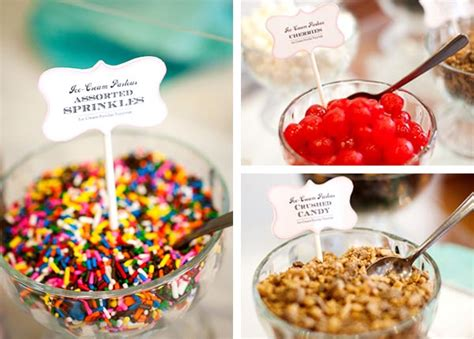 ice cream bar toppings popular toppings scoopss