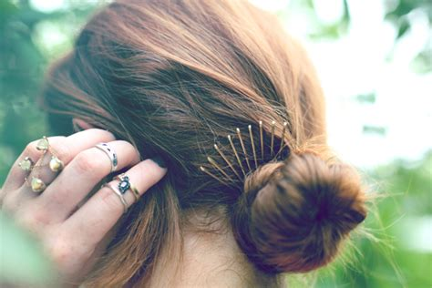 style  bobby pins women hairstyles