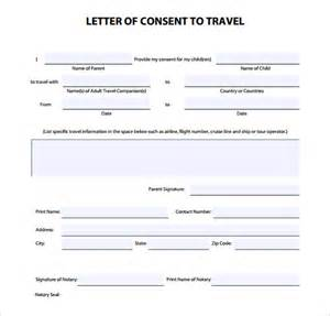 Permission To Take Child Out Of Country by Notarized Letter Template 8 Free Word Pdf Documents Free Premium Templates