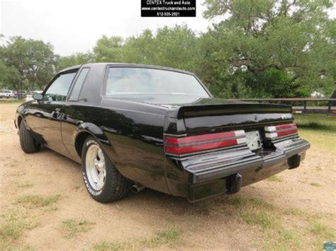 turbo buick grand national 1985 buick grand national turbo grand national t type