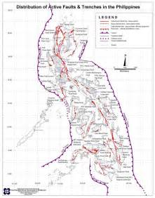 fault line map map of the philippine fault lines 187 manila bulletin newsbit