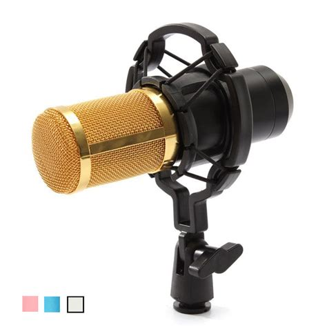 Mic Bm 800 bm800 recording dynamic condenser microphone with shock