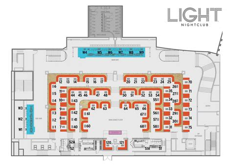 nightclub floor plans jackcolton official guide to light nightclub at mandalay bay