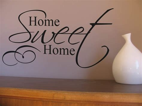 home sweet home wall decor create a homely space with this home sweet home wall art decal