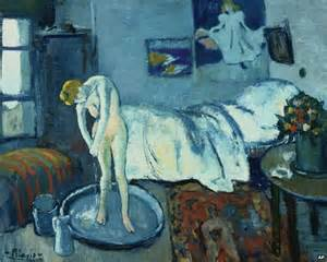 the blue room painting found picasso s the blue room news
