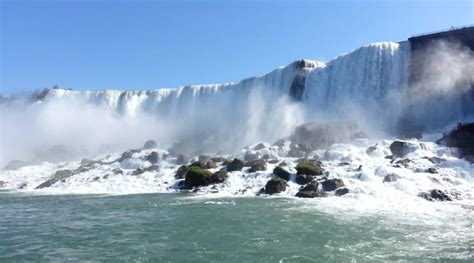 niagara falls boat tour from usa niagara falls a view from the maid of the mist the