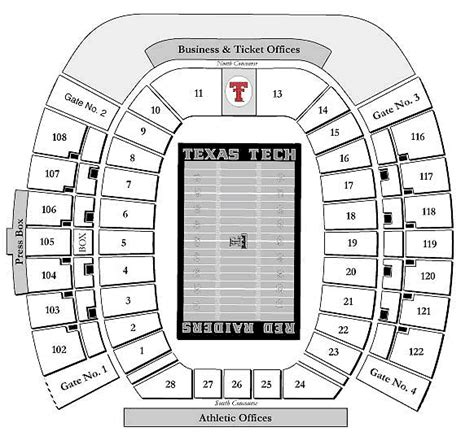 texas tech stadium map texas tech raiders 2008 football schedule