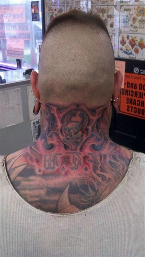 religious tattoo on neck religious neck tattoos cool tattoos bonbaden
