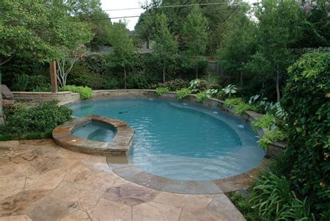 Small Pool With Waterfall Designs Free Form Pool With Pictures Of Backyards With Pools