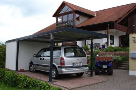 anbau carports carport anbau carport garage stahl5