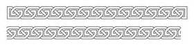 You get the outline style celtic knot font and a set of over 200