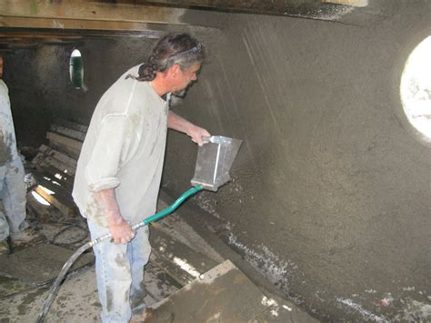 Sprayed Concrete Ceiling by Stucco Sprayer For Walls And Ceilings Made In The Usa