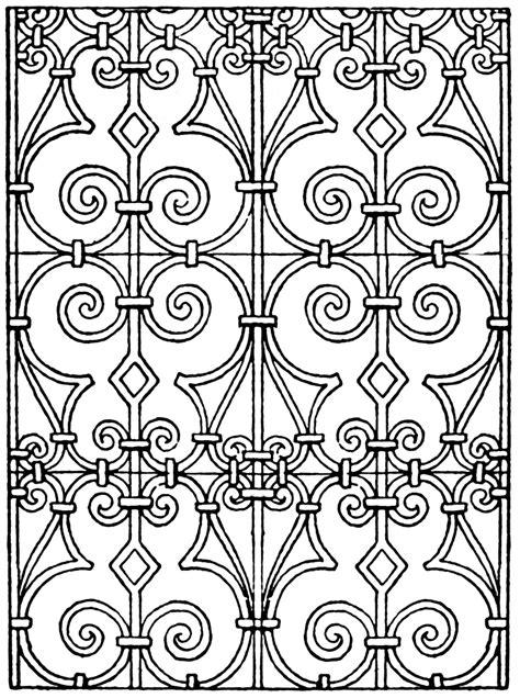 vintage pattern com italian renaissance pattern clipart etc