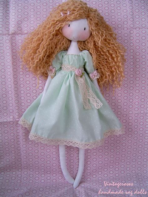 Handmade Soft Dolls - 25 best ideas about handmade rag dolls on