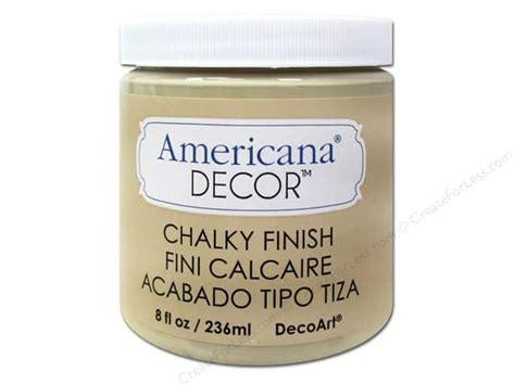 Americana Decor Chalky Finish by Decoart Americana Decor Chalky Finish 8 Oz Timeless