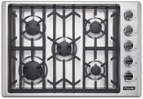 viking gas cooktop 30 inch viking vgsu53015bss 30 inch professional 5 series gas