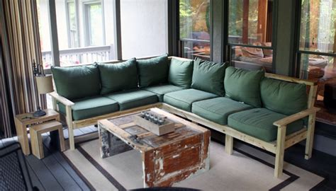 how to build a sectional how to make an outdoor sectional i like to make stuff