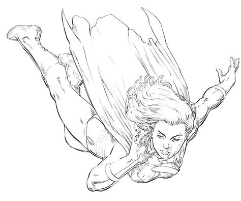 supergirl coloring pages free coloring pages of supergirl pictures