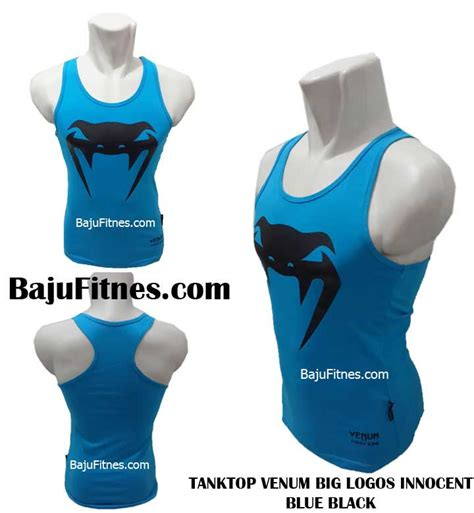 Baju Kaos Venum Blue 089506541896 tri shop fitness polos