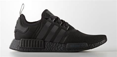 Sepatu Adidas Nmd R1 Black Premium High Quality adidas nmd r1 black soleracks
