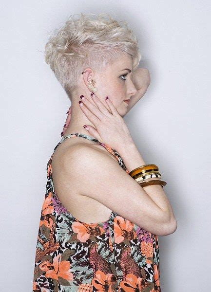 25 short shag hairstyles that you simply cant miss 1000 images about curly undercut on pinterest curly