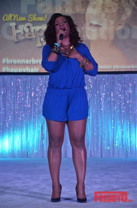 syleena johnson hair photos the 67th annual bronner brothers hair show