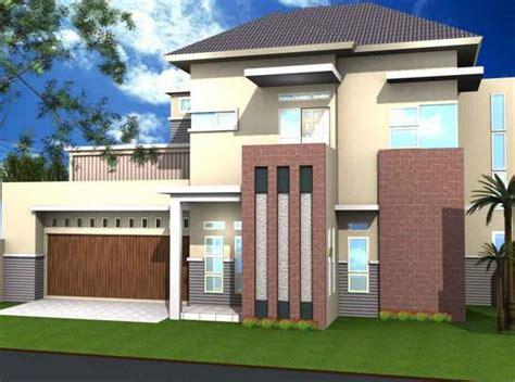 contoh warna cat tembok desain rumah minimalis terbaik