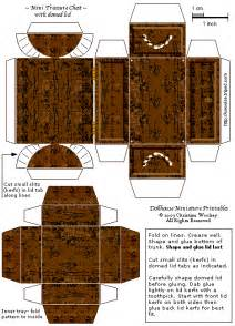 paper treasure chest template search results for treasure chest templates calendar 2015