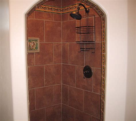 mexican tile bathroom liz talavera tile as a border in a bathroom mexican home