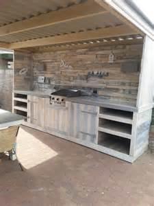 pallet furniture kitchen make a pallet kitchen for outdoor 99 pallets
