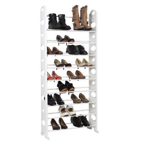 scaffali per scarpe songmics porta scarpe scarpiera scaffali montabile 10