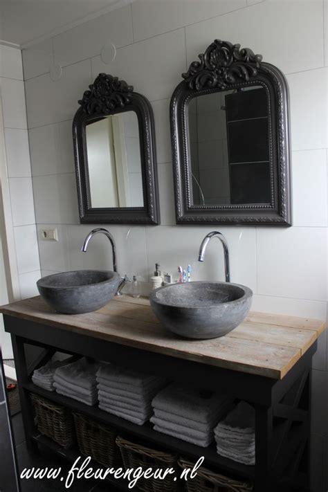 Spiegel Toilet Landelijk by Landelijk Badkamermeubel Landelijk Brocante Stijl