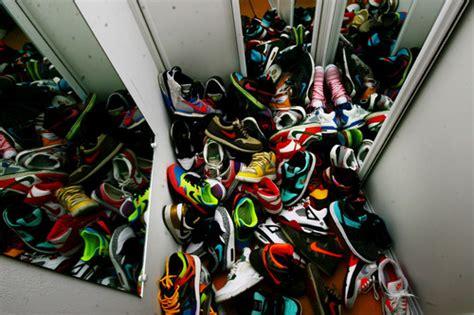Nike Shoe Closet by Fashion Meu Closet Nike Shoes Want Image 54971 On