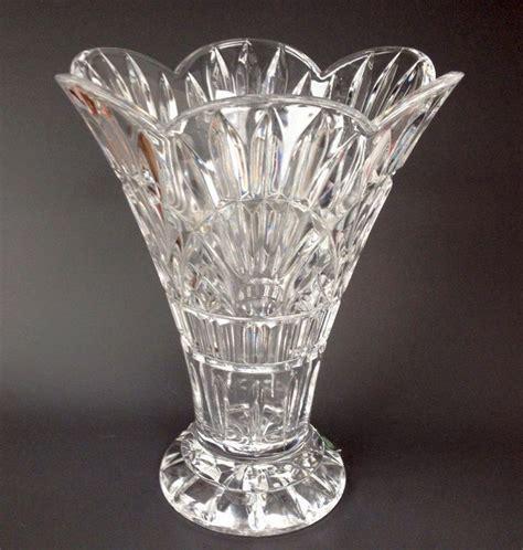 Shannon Vase By Godinger shannon 24 lead 14 quot freedom vase ireland slovenia godinger glass nwt