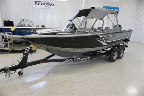 crestliner boats specifications crestliner 2050 authority boats for sale in united states
