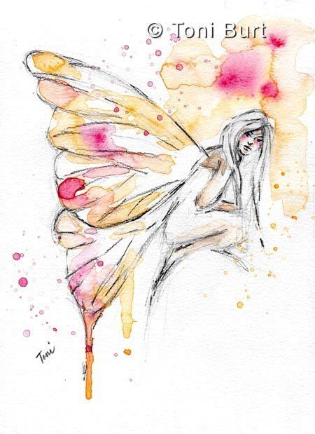watercolor tattoo fairy 17 best ideas about wings drawing on