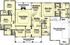 4 bedroom ranch house plans plan w59068nd neo traditional 4 bedroom house plan home 4 bedroom ranch house plans plan w59068nd neo