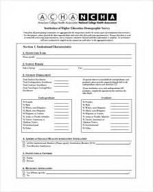 sample demographic survey template 5 free documents in pdf