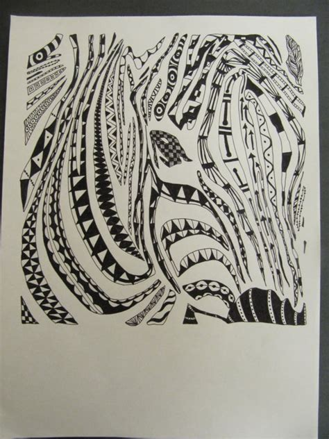 zentangle zebra pattern 71 best animal art images on pinterest coloring pages