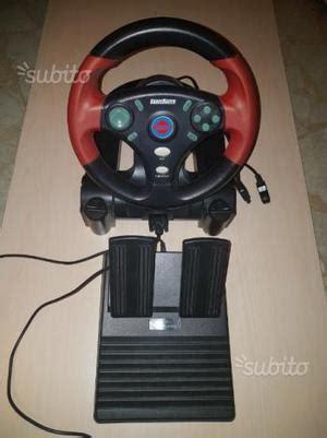volante pedaliera pc volante con pedaliera per videogame per pc posot class