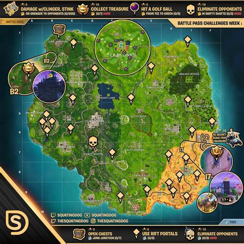 fortnite challenges for season 5 fortnite season 5 week 5 challenges sheet sorrowsnow77