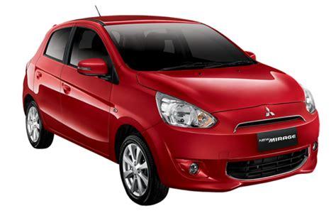 mitsubishi new mirage exceed cvt jual mobil baru