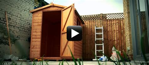 Up A Shed by How To Put Up A Shed Titan Garden Buildings